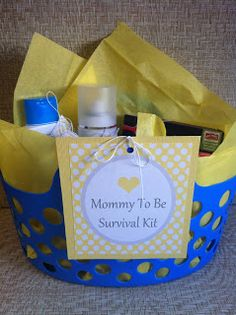 dreaming of dixie: mommy to be survival kit details