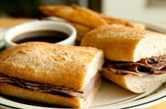 Rachel Ray's French Dip Sandwich