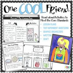 """This witty story by Toni Buzzeo, illustrated by David Small, is a must-have! """"One Cool Friend"""" is structured around a """"misunderstanding"""" ..."""