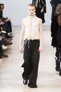 Male Fashion Trends: Ann Demeulemeester Fall-Winter 2017 - Paris Fashion Week