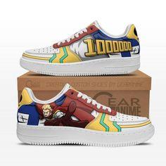 Get it on Gearanime.com Custom Anime, Air Force Shoes, Custom Shoes, Me Me Me Anime, Shoe Collection, My Hero Academia, Snug Fit, Sneakers, Leather