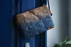 Tasche aus SnapPap mit Ombré-Effekt