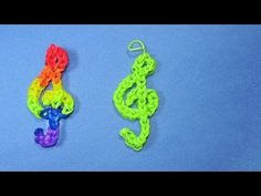 Rainbow Loom Charms Music Note (Treble Clef) Tutorial. See how to make a Rainbow Loom Treble Clef Charm in this video. Thanks for watching! Please Subscribe …