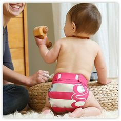 girls rock gPants, for use with gDiapers disposable inserts or reusable cloth inserts. - gDiapers