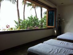 A trip to Spa Moana at the Hyatt Maui.  Loved It!