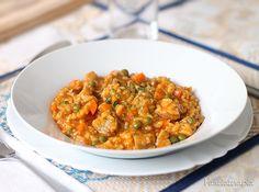 PANELATERAPIA - Blog de Culinária, Gastronomia e Receitas: Risoto da Roça