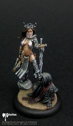 Ax Faction 28mm Miniatures, Fantasy Miniatures, Zombicide Black Plague, Tomb Kings, Graphic Novel Art, Mini One, Miniature Figurines, Warhammer Fantasy, Figure Model