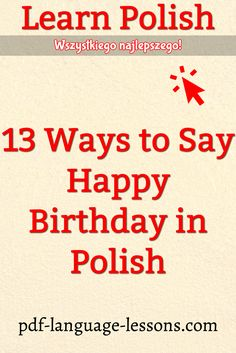 135 Best Learn Polish Language Great Stuff Images Language Classes