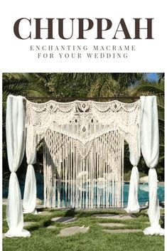 Macrame Elegance is site to macrame artist Lucy Lanuza in Napa, California. She creates fabulous and unique macrame wall hangings and wedding backdrops for sale or rental for your home, business, wedding or events.