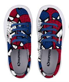 5672e3d11f4e1 Superga di Spider-Man  le scarpe con cui i bambini danno il benvenuto alla  Primavera