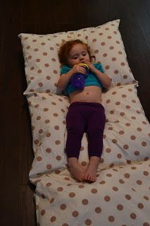 Sleeping is for Sissies: Make this nap mat for under $20 and under 2 hours!