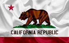 Ventura California, California Flag, California Republic, Sierra Nevada, Puente Golden Gate, California Wallpaper, Burney Falls, Nova Era, Emblem