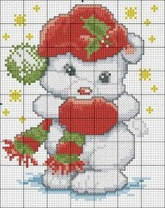 Karilla et point de croix: Noël