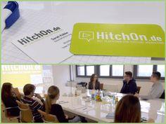 Heute hat uns Sarah Kübler, Geschäftsführerin von HitchOn.de, besucht! HitchOn stellt Kooperationen zwischen bekannten YouTubern und Unternehmen her. Unser Social Media-Team hatte die Gelegenheit, mehr über die Plattform zu erfahren und zu brainstormen, inwiefern die Zusammenarbeit mit Vloggern auch unsere Social Media-Kundenprojekte ergänzen könnte.  Ganz herzlichen Dank nochmal für die spannenden Infos, Sarah! #ContentMarketing #BloggerRelations #VideoMarketing #Vlogger