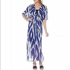 Nwot Adrienne Vittadini Maxi Dress