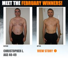 """::Feb 2013:: Christopher lost 55 lbs with #Beachbody products and programs! -->""""The Ultimate Reset was the start of a life-long change. …I wanted to feel better, eat better, and be healthier so that I could end my cycle of bad eating and sedentary lifestyle. MISSION ACCOMPLISHED."""" SEE HIS FULL STORY & ENTER YOUR RESULTS FOR A CHANCE TO WIN PRIZES!"""