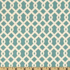 This Waverly Home Décor weight fabric is as versatile as it is gorgeous! Screen printed on cotton this fabric is perfect for window treatments (swags valances, curtains, and draperies), bed skirts, duvet covers, pillows, slipcovers, upholstery, tote bags, aprons and more! Colors include ivory on a teal (turquoise) background.
