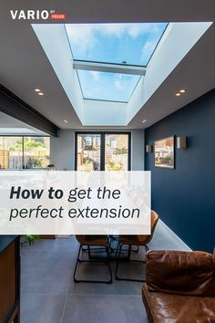 Add light from above and drench your home in daylight. In this guide you can read about the key considerations when adding a rooflight to your extension. Open Kitchen And Living Room, Barn Kitchen, Home Decor Kitchen, Interior Design Kitchen, Modern Interior Design, House Extension Plans, House Extension Design, Kitchen Diner Extension, Building A Container Home