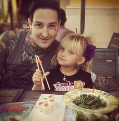 Mitch Lucker and Kenadee Lucker... This is to cute.. I'm gonna cry..