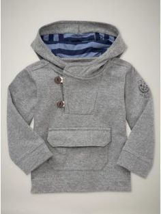 Nautical Jacket for Toddler Boys. Maybe a way to change up the Urban Unisex Hoodie pattern.