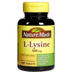 L-Lysine - Broken Capillaries: sodium ascorbate vit c and lysine will diffuse the redness and the broken capillaries will disappear in time with daily treatment. (4grams Vit C and 3grams Lysine once a day)