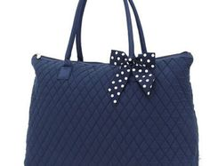 Navy Quilted Tote with FREE MONOGRAMMING - Edit Listing - Etsy