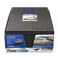 Shop Brock 36-in L x 24-in W Interlocking Paver Base Panel at Lowes.com