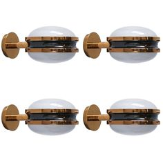 Sergio Mazza Sigma Sconces | From A Unique Collection Of Antique And Modern  Wall Lights And