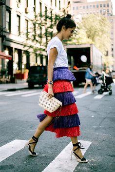 New Party Outfit Men Leandra Medine Ideas Nyfw Street Style, Street Chic, Street Fashion, Paris Street, Fashion Weeks, Looks Style, My Style, Simple Style, Fringes
