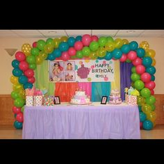 Candy land arch i did