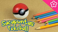 Sacapuntas de Pokebola Decora utilies escolares con Pokemon Go - DecoAnd...