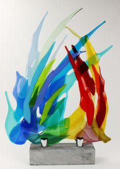 Glasfusing - Galerie Marijke Kuiphuis - Glaskunst door Glasfusen