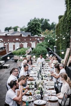 SOUTH | a rooftop dinner with MasterChef Season 5 Competitors Elizabeth Cauvel + Dan Wu - offbeat + inspired