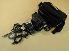 Panasonic Palmcorder Video Camera VHS-C 16x Optical Zoom PV-D407D V2 -- Parts/Not Working