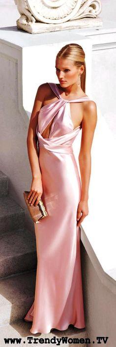 trendywomentv.com  pink gown