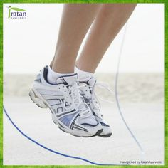 Skipping rope is a healthy exercise and inexpensive too. It enhances flexibility and athletic abilities. It also improves your reflexes, balance and posture.