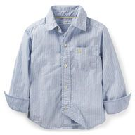 Woven Button-Front Shirt
