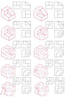 losmuertosdeldiedrico: PERSPECTIVA ISOMÉTRICA 1º BACHILLERATO Iso Drawing, Drawing Tips, Painting & Drawing, Isometric Drawing Exercises, Isometric Art, Architecture Drawing Sketchbooks, Architecture Portfolio, Orthographic Drawing, Geometric Drawing