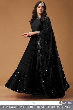 Style Array Present Bollywood Black Color Georget With Foil Print Fancy Thred Work Gown buy - Bollywood Black Color Georget With Foil Print Fancy Thred Work Gown Gown Party Wear, Party Wear Indian Dresses, Designer Party Wear Dresses, Pakistani Dresses Casual, Indian Gowns Dresses, Indian Fashion Dresses, Pakistani Dress Design, Indian Designer Outfits, Indian Wedding Outfits
