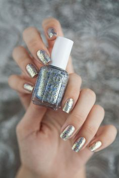 Swapped, MA Essie On A Silver Platter.  Swatched.