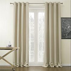 IYUEGO Classic Solid Polyester Room Darkening Grommet Top... https://www.amazon.com/dp/B00ZIWPPVE/ref=cm_sw_r_pi_dp_x_IZwFyb1KBCKC4