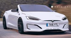 Tesla Model S Looks Pretty Sleek As A Convertible