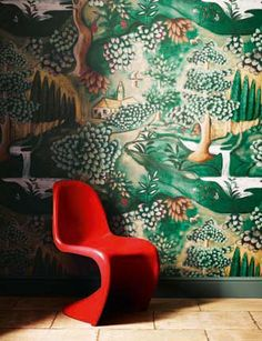 Arden Wallpaper - GREAT BRITISH DESINERS!! MELISSA WHITE