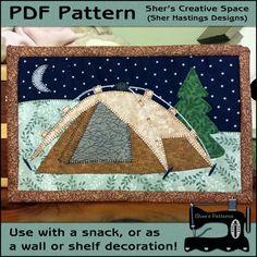 PDF Pattern for Camping Under the Stars Mug by ShersPatternShop
