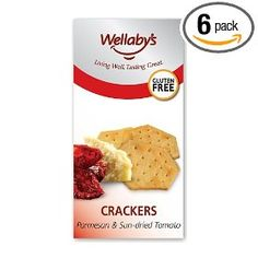 Parmesan & Sun-Dried Tomato Crackers by Wellaby's - these crackers ...