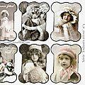 Cadeau: 2 séries de cartonnettes pour les fêtes de fin d'année !