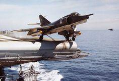 French Navy Aviation Navale (flottille 17F) Dassault Étendard IVM