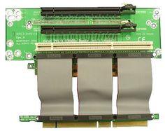 2U Riser Card with 2 x PCI-Express 16x + 1 x PCI-X by Circotech. $73.00. 2U Riser Card with 2 x PCI-Express 16x + 1 x PCI-X