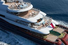 300 million dollars will bag you the magnificent 'Nirvana' superyacht