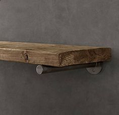 Restoration Hardware reclaimed wood shelf